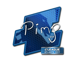 Наклейка | Pimp | Атланта 2017