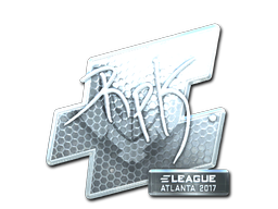 Sticker   RpK (Foil)   Atlanta 2017