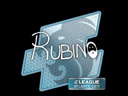 Наклейка | RUBINO | Атланта 2017