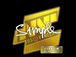 Sticker | s1mple | Atlanta 2017