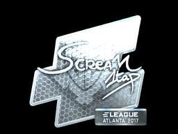 Sticker   ScreaM (Foil)   Atlanta 2017