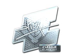 Sticker   shox (Foil)   Atlanta 2017