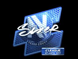 Sticker   SIXER (Foil)   Atlanta 2017