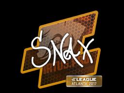 Наклейка | Snax | Атланта 2017