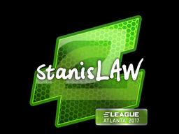Наклейка | stanislaw | Атланта 2017