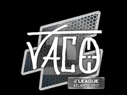 Sticker   TACO   Atlanta 2017