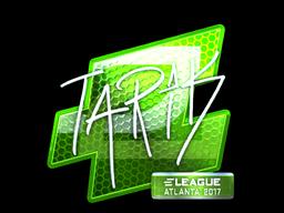 Sticker   tarik (Foil)   Atlanta 2017