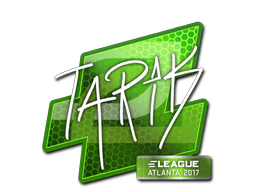 Наклейка | tarik | Атланта 2017