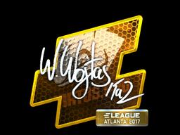Наклейка | TaZ (металлическая) | Атланта 2017