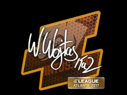 Наклейка | TaZ | Атланта 2017