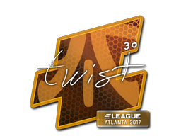Наклейка | twist | Атланта 2017