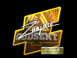 Sticker   znajder (Foil)   Atlanta 2017