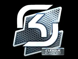 Наклейка | SK Gaming (металлическая) | Атланта 2017