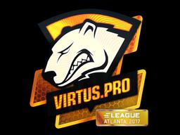 Наклейка | Virtus.Pro (голографическая) | Атланта 2017