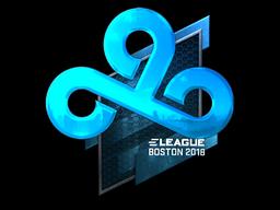 Sticker | Cloud9 (Foil) | Boston 2018