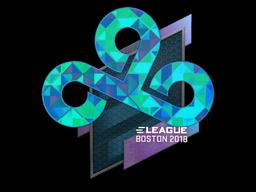 Sticker | Cloud9 (Holo) | Boston 2018
