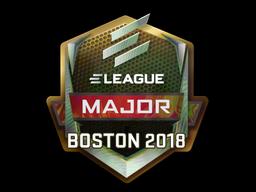 Наклейка | ELEAGUE (голографическая) | Бостон 2018