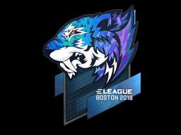 Sticker   Flash Gaming (Holo)   Boston 2018