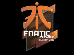 Наклейка | Fnatic (голографическая) | Бостон 2018