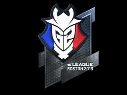 Sticker | G2 Esports (Foil) | Boston 2018
