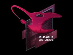 Sticker | mousesports (Foil) | Boston 2018