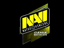 Sticker | Natus Vincere (Foil) | Boston 2018