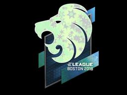 Наклейка | North (голографическая) | Бостон 2018