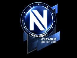 Sticker | Team EnVyUs (Foil) | Boston 2018