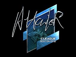 Sticker   Attacker (Foil)   Boston 2018