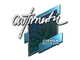 Наклейка | autimatic | Бостон 2018