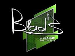 Наклейка | B1ad3 | Бостон 2018