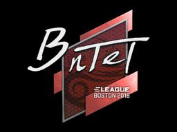 Наклейка | BnTeT | Бостон 2018
