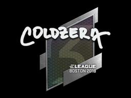 Sticker   coldzera   Boston 2018