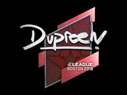 Sticker   dupreeh   Boston 2018