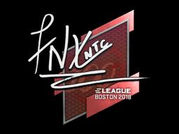 Наклейка | fnx | Бостон 2018
