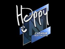 Наклейка | Happy | Бостон 2018