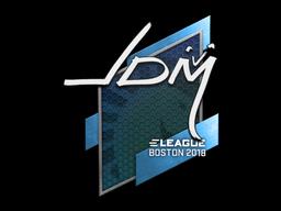 Наклейка | jdm64 | Бостон 2018