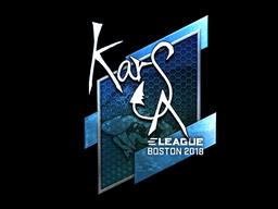 Sticker   Karsa (Foil)   Boston 2018