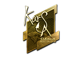 Sticker   Karsa (Gold)   Boston 2018