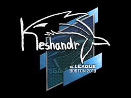 Наклейка | keshandr | Бостон 2018