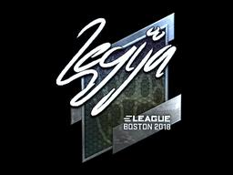 Sticker   LEGIJA (Foil)   Boston 2018