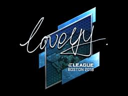 Sticker   LoveYY (Foil)   Boston 2018