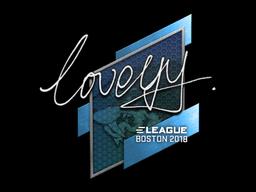 Sticker   LoveYY   Boston 2018
