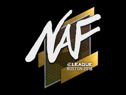 Наклейка | NAF | Бостон 2018