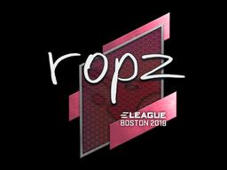 Наклейка | ropz | Бостон 2018