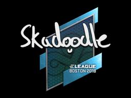 Наклейка | Skadoodle | Бостон 2018