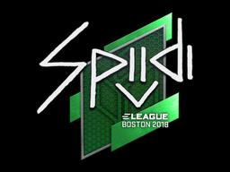 Наклейка | Spiidi | Бостон 2018