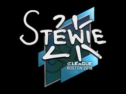 Наклейка | Stewie2K | Бостон 2018