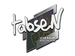 Sticker   tabseN   Boston 2018