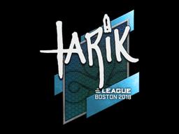 Наклейка | tarik | Бостон 2018
